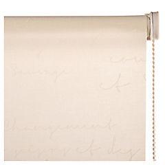 Cortina enrollable poliéster 120x190 cm beige