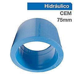 Buje reducción corto PVC para cementar 75x63 mm