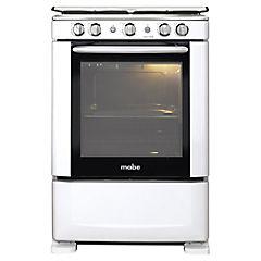 Cocina a gas 4 quemadores 79,2 litros blanco