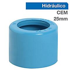 Buje reducción corto PVC para cementar 25x20 mm