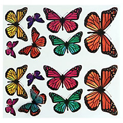 Sticker decorativo mariposas 3D 26 unidades