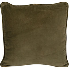 Cojín 45x45 cm verde