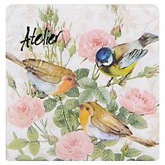 Juego de servilletas papel 33x33 cm Tres pájaros 20 unidades