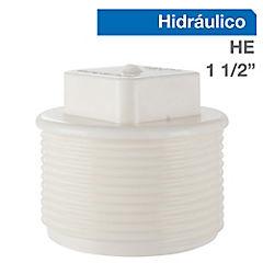 Tapa PVC a presión 1 1/2