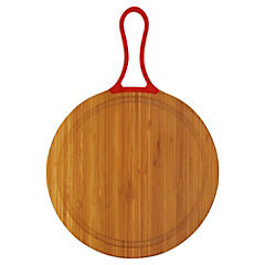 Tabla con mango bambú y silicona rojo