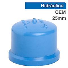 Tapa gorro PVC para cementar 25 mm