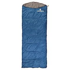 Saco de dormir tipo momia azul