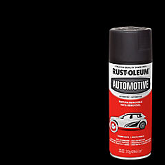 Pintura temporal en spray para auto mate 340 gr Negro