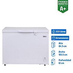 Congelador industrial horizontal 300 litros blanco
