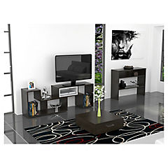 Combo rack de TV + arrimo + mesa de centro