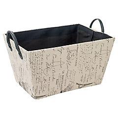 Caja organizadora 37x27x20 cm negro