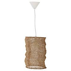 Lámpara de Colgar yute 60W E27