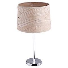 Lámpara de Mesa Metal/Madera 60W E27