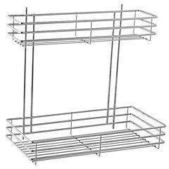 Organizador extensible 45x42x24,5 cm acero Cromado