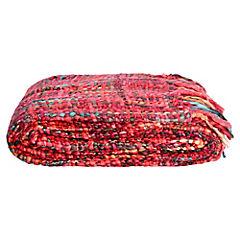 Manta Portobelo Rojo 130 x 160 cm