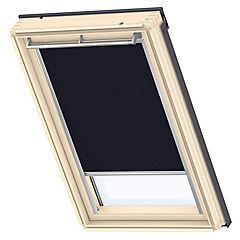 Cortina para ventana de techo 78x98 cm azul