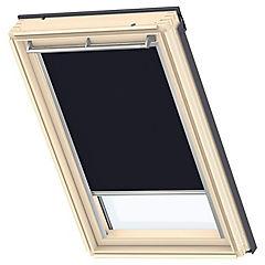 Cortina para ventana de techo 66x118 cm azul