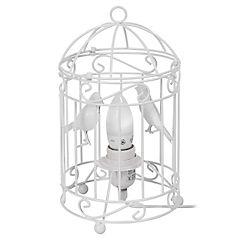 Lámpara de Mesa Jaula Pájaros e27 40w