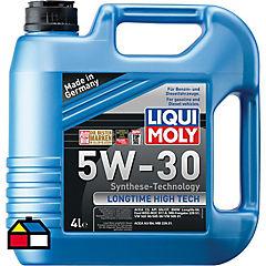 Aceite sintético para motor 4 litros bidón