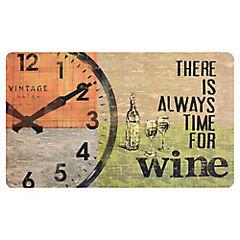 Limpiapiés de cocina Wine 45x75 cm