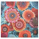 Canvas flores 80x80 cm