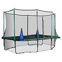 Cama elástica rectangular 238x347 cm