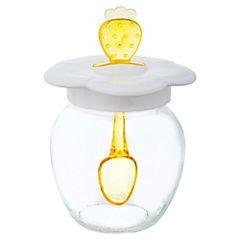 Frasco para miel y mermelada 370 cc transparente