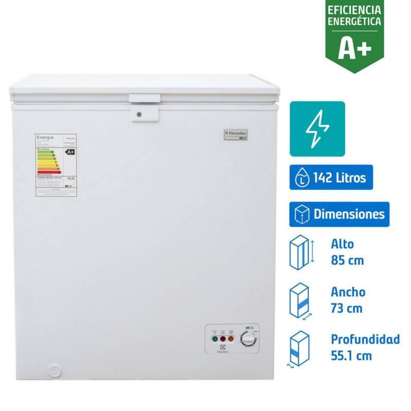 ELECTROLUX - Freezer horizontal 142 litros blanco