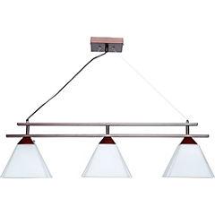 Lámpara colgante 85 cm 3 luces 60 W