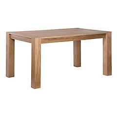 Mesa de comedor 75x90x150 cm roble