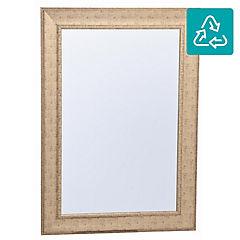 Espejo rectangular 108x78 cm dorado