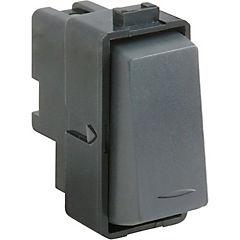 Interruptor 9/24 16 A Noir