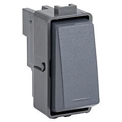 Módulo interruptor pulsador 16 A Noir