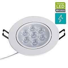 Foco SMD empotrado 7 W LED