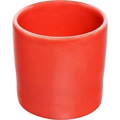 Macetero cactus de cerámica 9 cm rojo