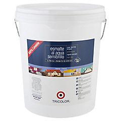 Esmalte al agua semibrillante 5 gl blanco