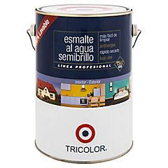 Esmalte al agua semibrillo 1 gl rojo italiano