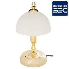 Lámpara de mesa clasic Cannes E14
