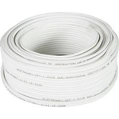 Cordón 25 m Blanco
