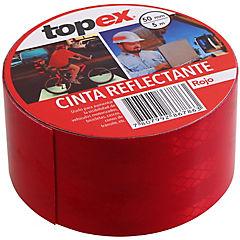 Cinta reflectante 5 m roja