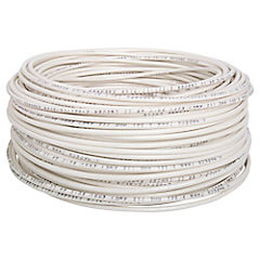 Cable eléctrico (Thhn) 12 Awg 50 m Blanco