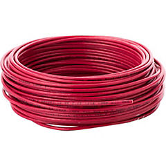 Cable eléctrico 12 AWG 0,6 kW 25 m Rojo