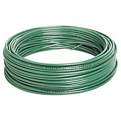 Cable eléctrico 14 AWG 0,6 kW 25 m Verde