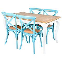 Juego de comedor Vittoria 4 sillas