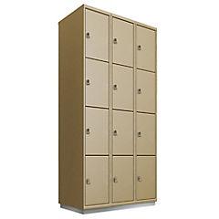 Locker acero 12 puertas con portacandado