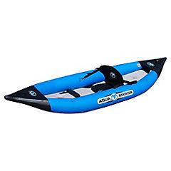 Bote kayak plástico naranjo 1 persona