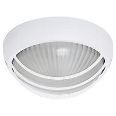 Lámpara tortuga exterior 60 W Blanco