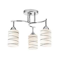 Lámpara de techo 3 luces 60 W
