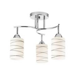 CASA BONITA - Lámpara de techo 3 luces 60 W