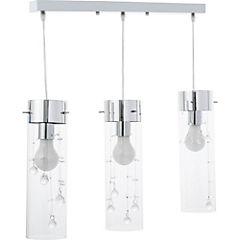 Lámpara colgante 67 cm 3 luces 60 W